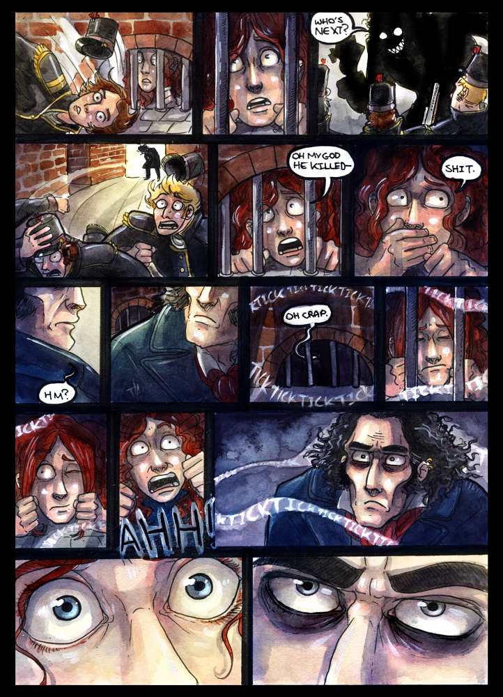 Page 8: The Mysterious Ticking Noise